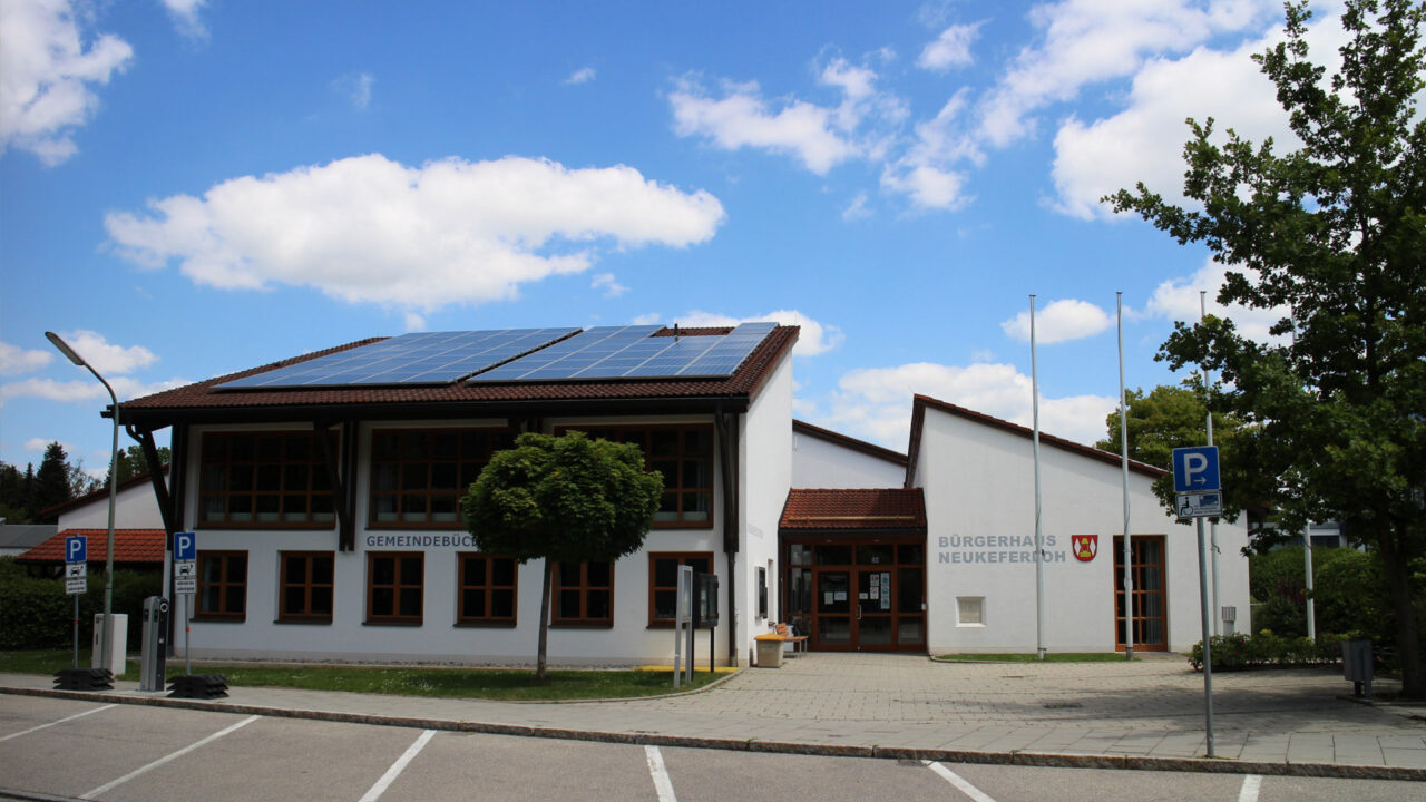 Bürgerhaus und Gemeindebücherei