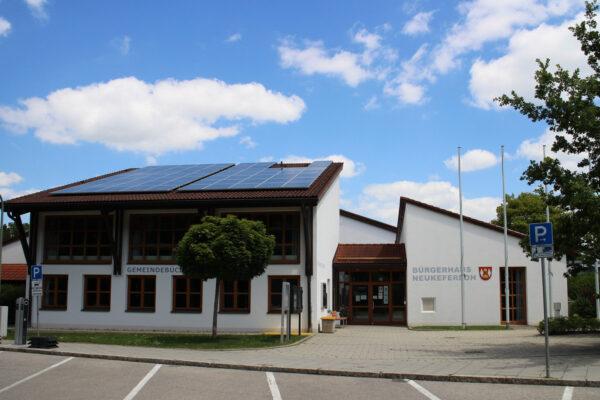 Bürgerhaus und Gemeindebuecherei