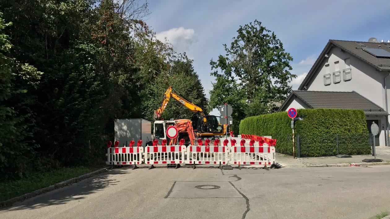 Baustelle Leonhard-Stadler-Str.
