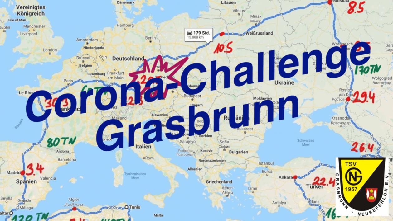 Corona-Challenge Grasbrunn