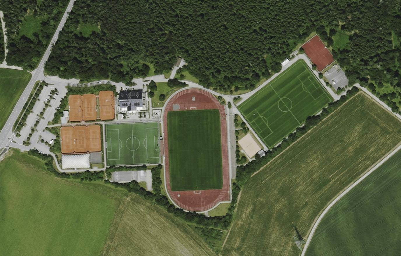 Sportpark von Oben