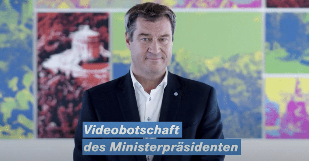 Videobotschaft Dr. Markus Söder