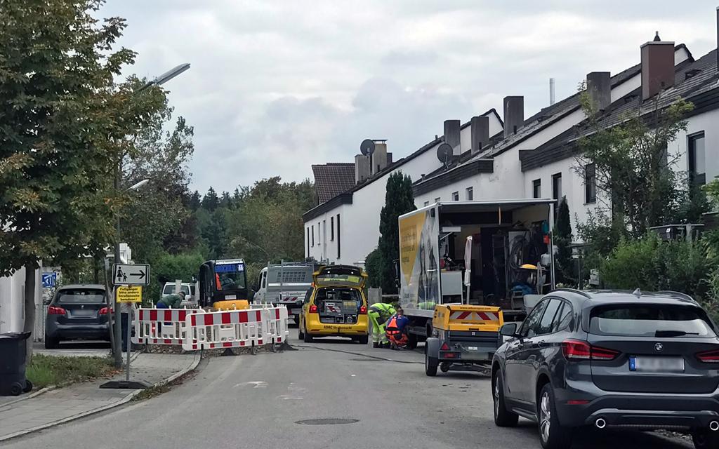 Baustelle Johann-Hackl-Ring