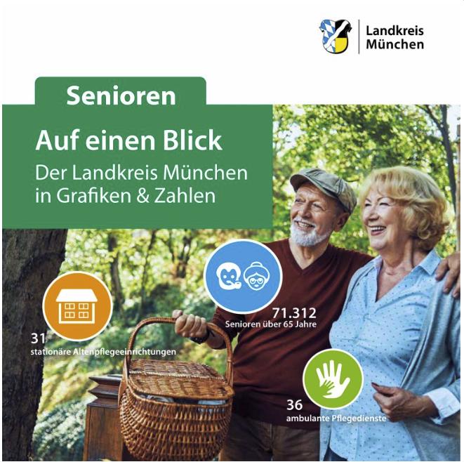 Info-Broschüre Auf einen Blick - Senioren