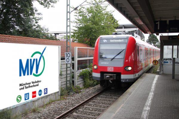 MVV S-Bahnhof Vaterstetten