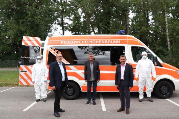 COVID-19 Teststation Hohenbrunn