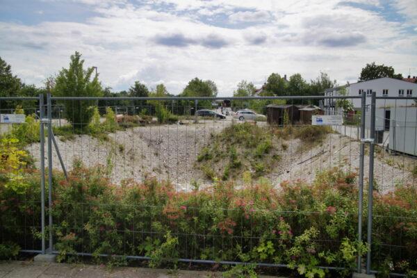 Baugrube Grasbrunn