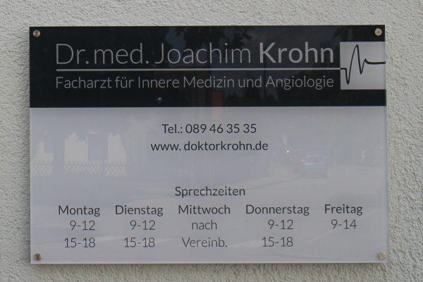 Dr. Krohn Schild