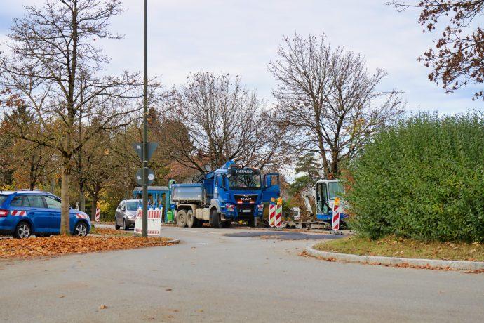 Lehnerstraße Bauarbeiten