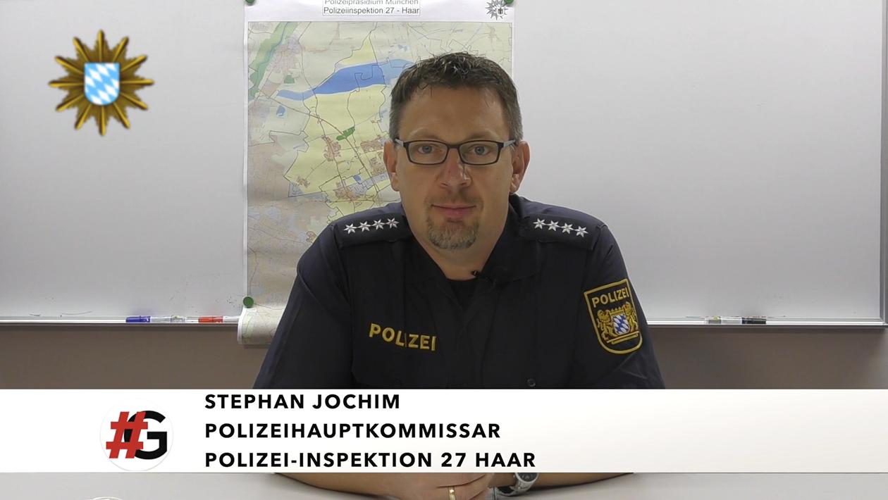 Stephan Jochim, Polizei-Inspektion Haar