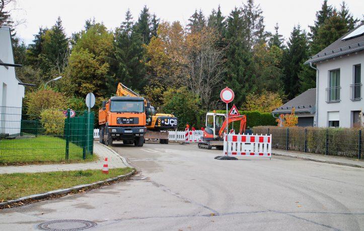 Tiroler Straße Bauarbeiten