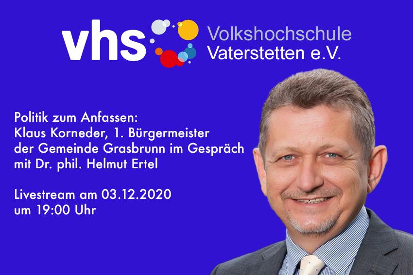 VHS-Abend mit Klaus Korneder