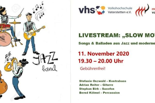 Livestream Konzert Slow Motion