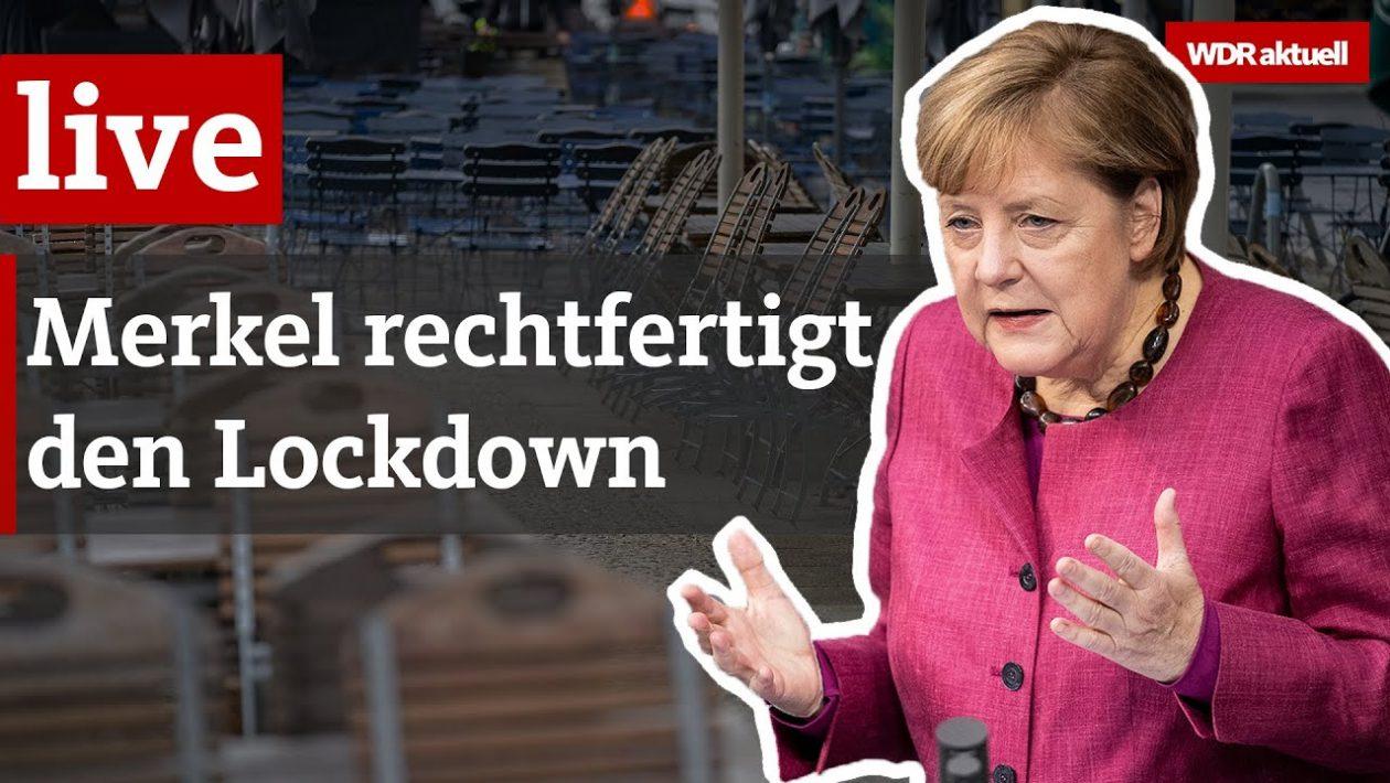 WDR - Merkel verteidigt den Lockdown
