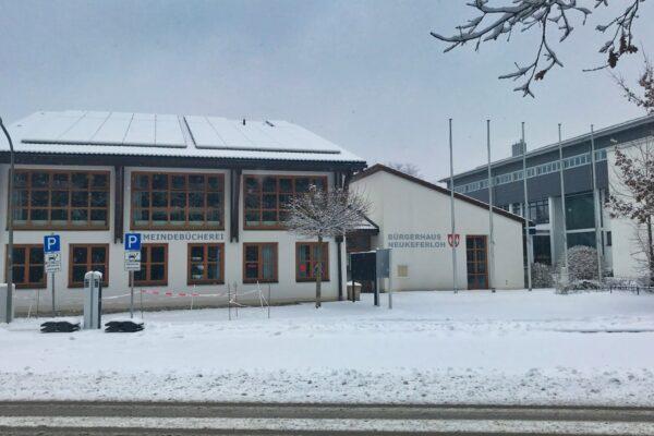 Bürgerhaus Neukeferloh Winter