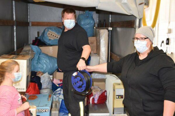 Feuerwehr Harthausen sammelt für Kroatien