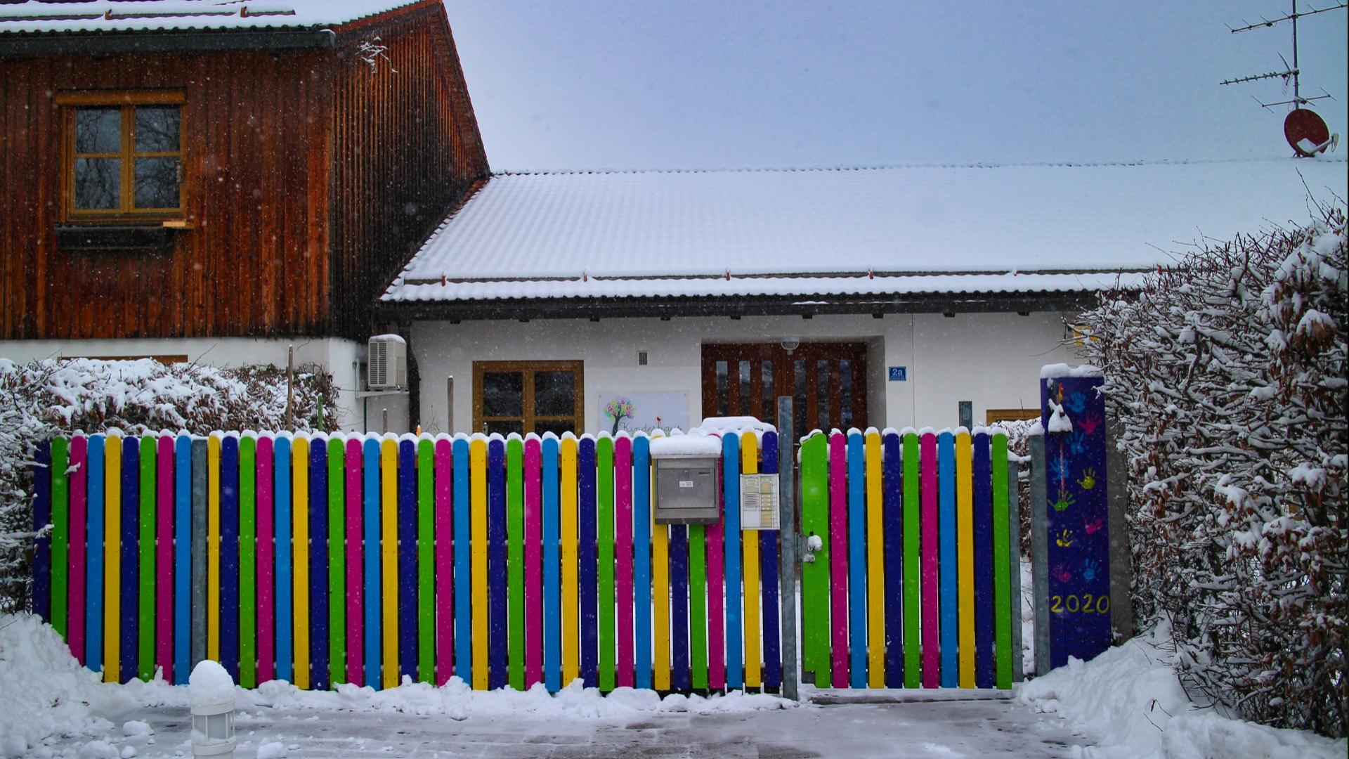 Kinderhaus Harthausen im Winter