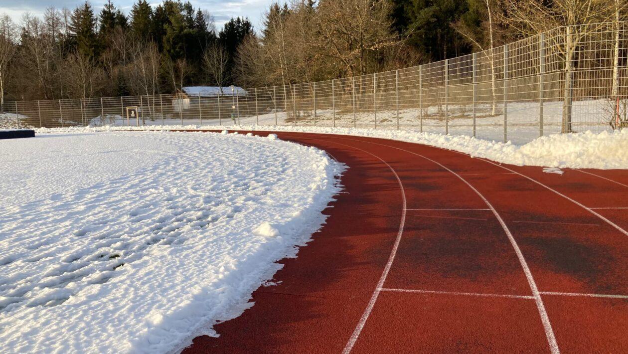 Laufbahn Sportpark Grasbrunn