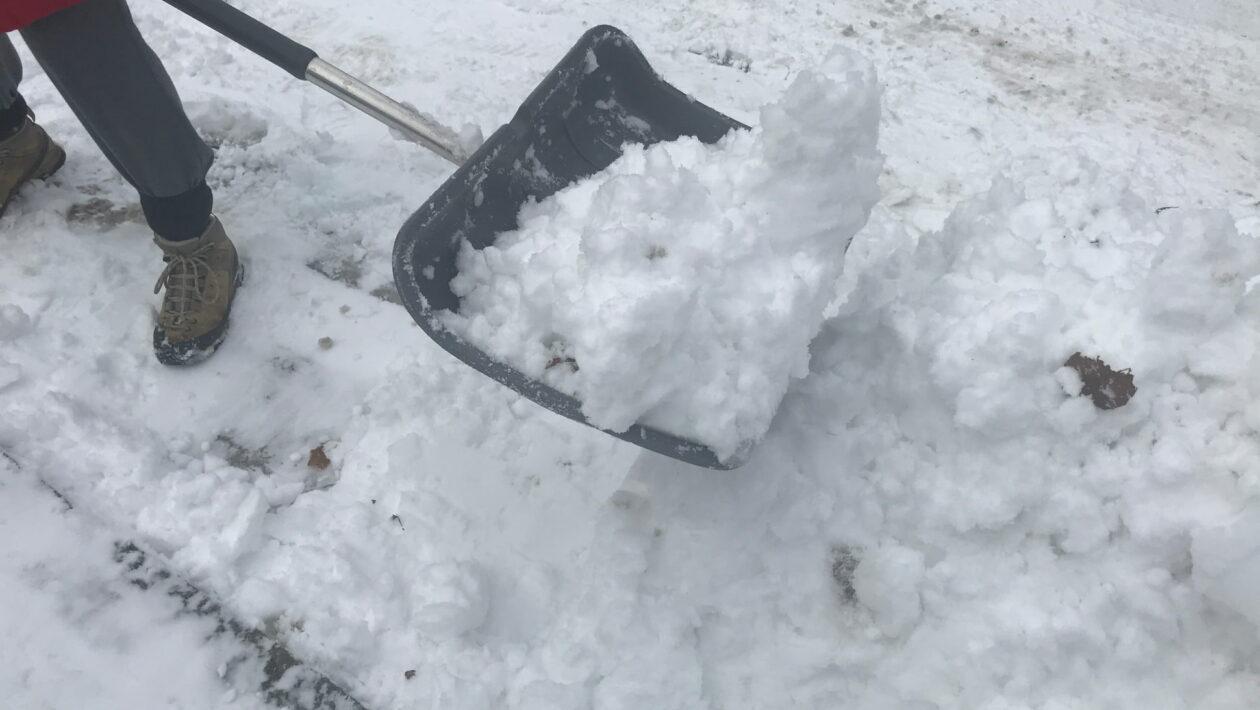 Schneeschaufel