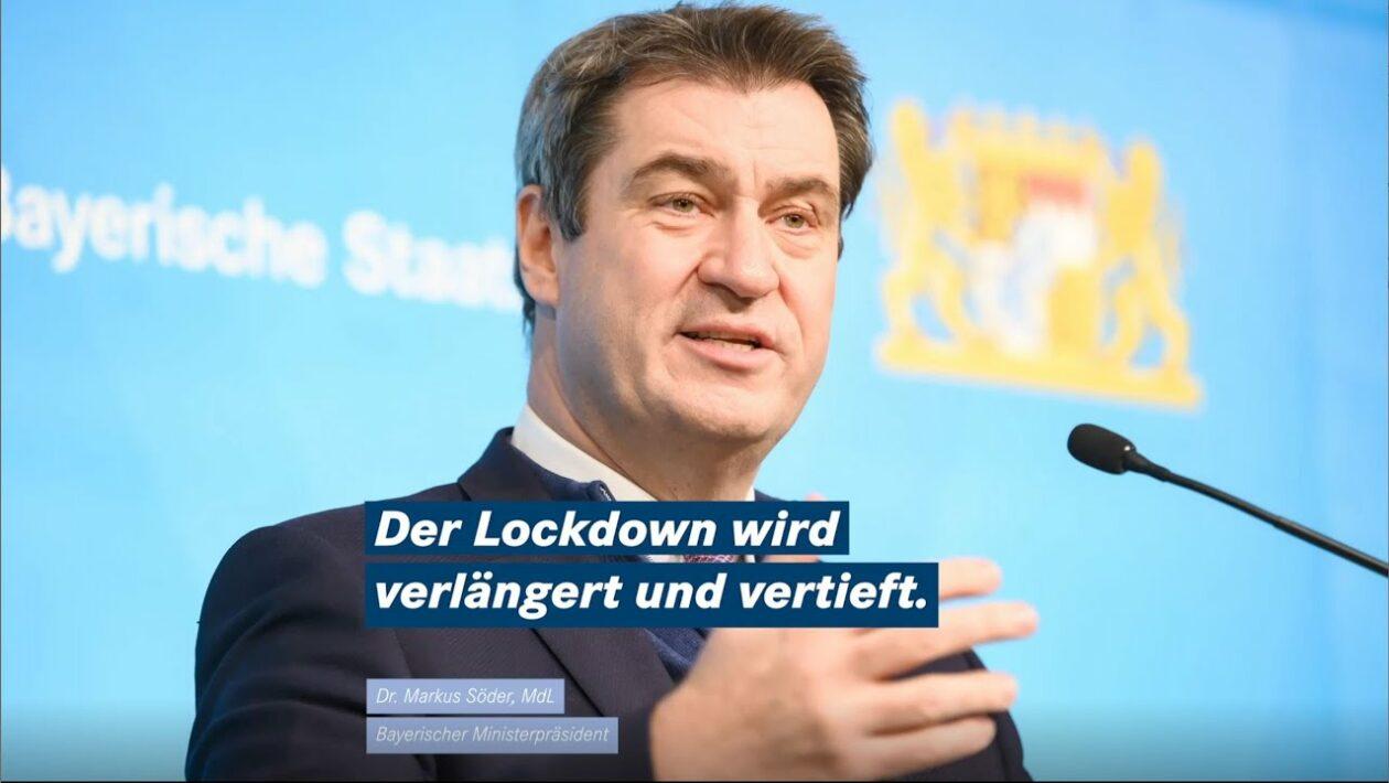 Söder Lockdownverlängerung