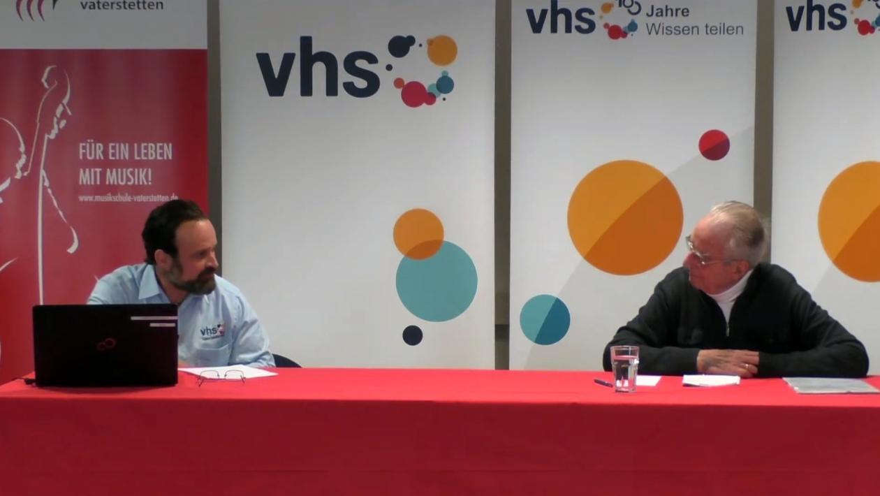 VHS-Online-Vortrag von Prof. Dr. Günther von Lojewski