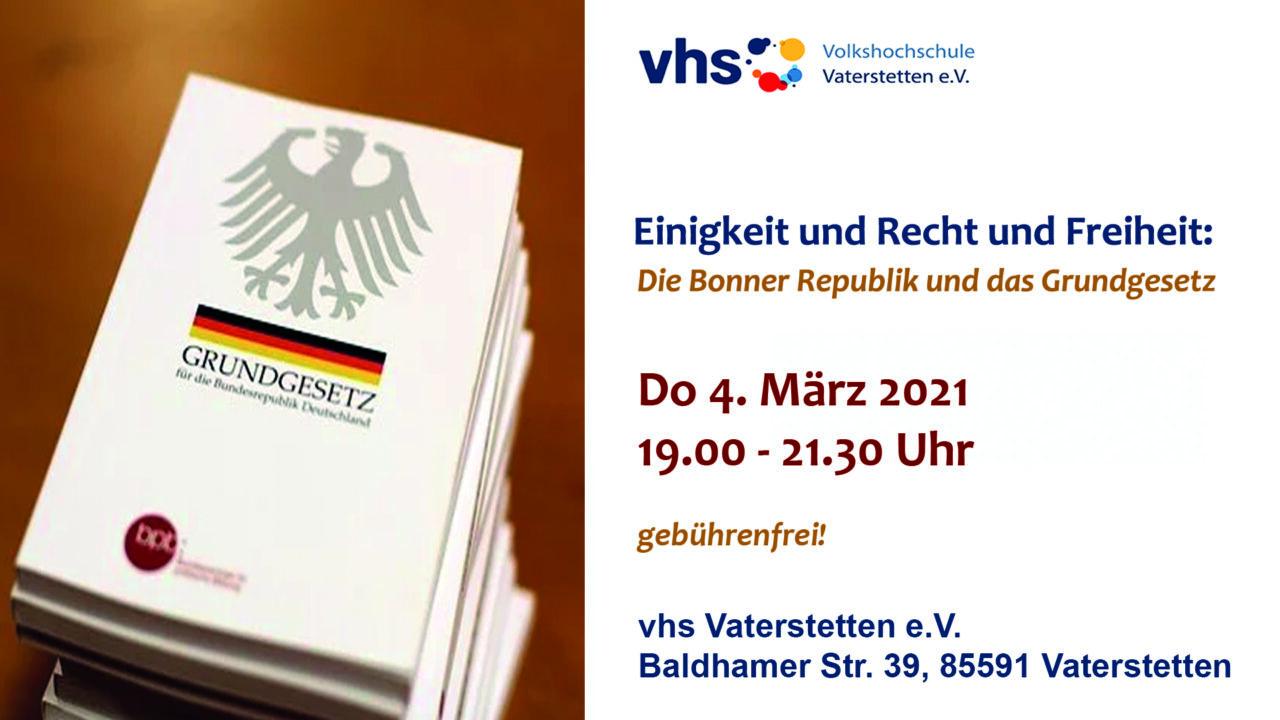 VHS - Bonner Republik
