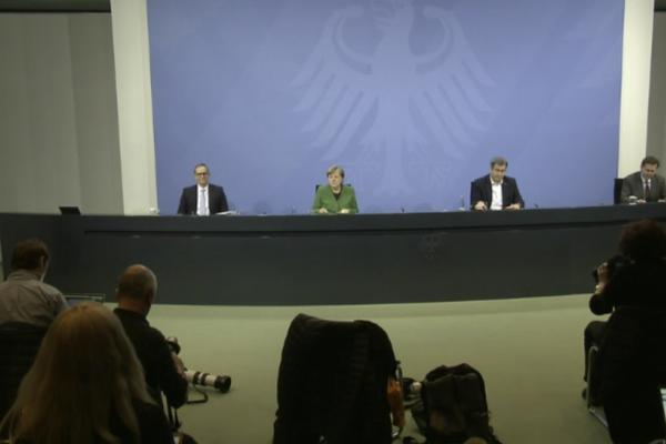 Livestream Pressekonferenz 22. März