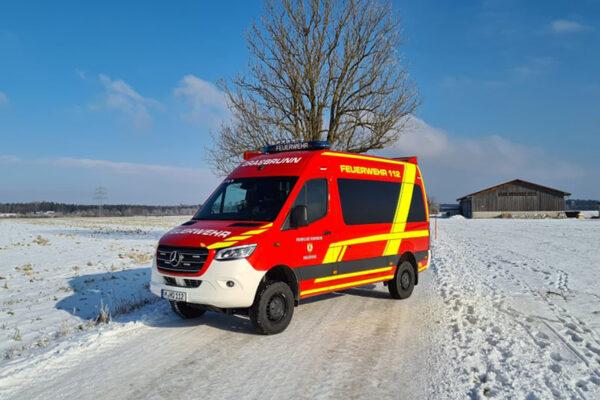 MZF der Feuerwehr Grasbrunn