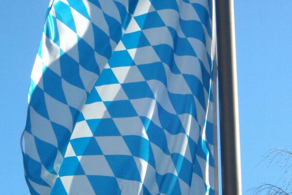 Bayern Flagge