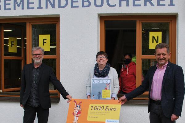 Bayernwwerk Büchereispende