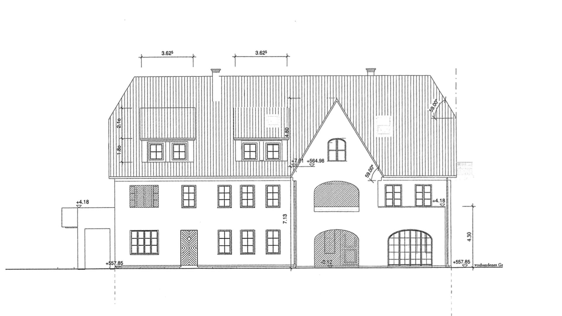 Neubau Alte Schmiede