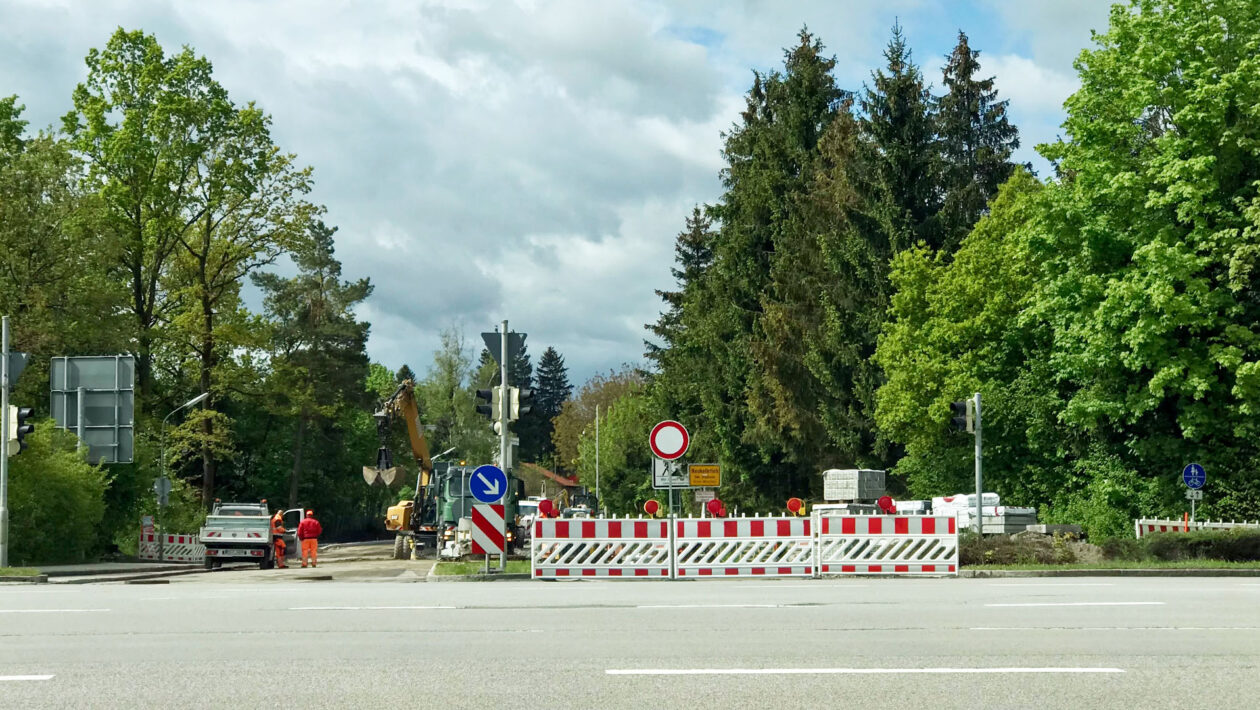 Waldbrunner Straße Sperrung 2021