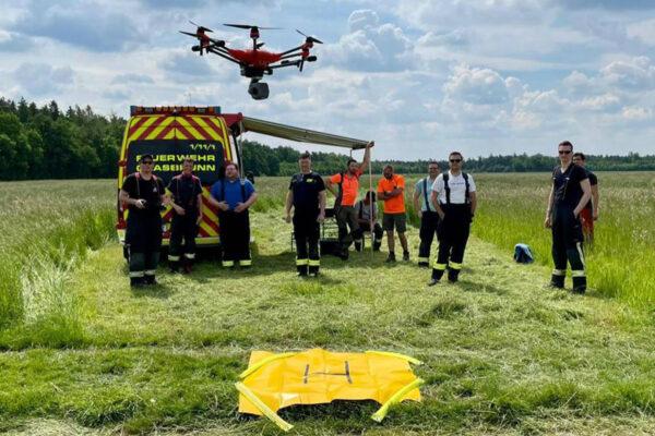 Drohnenstaffel Feuerwehr Grasbrunn