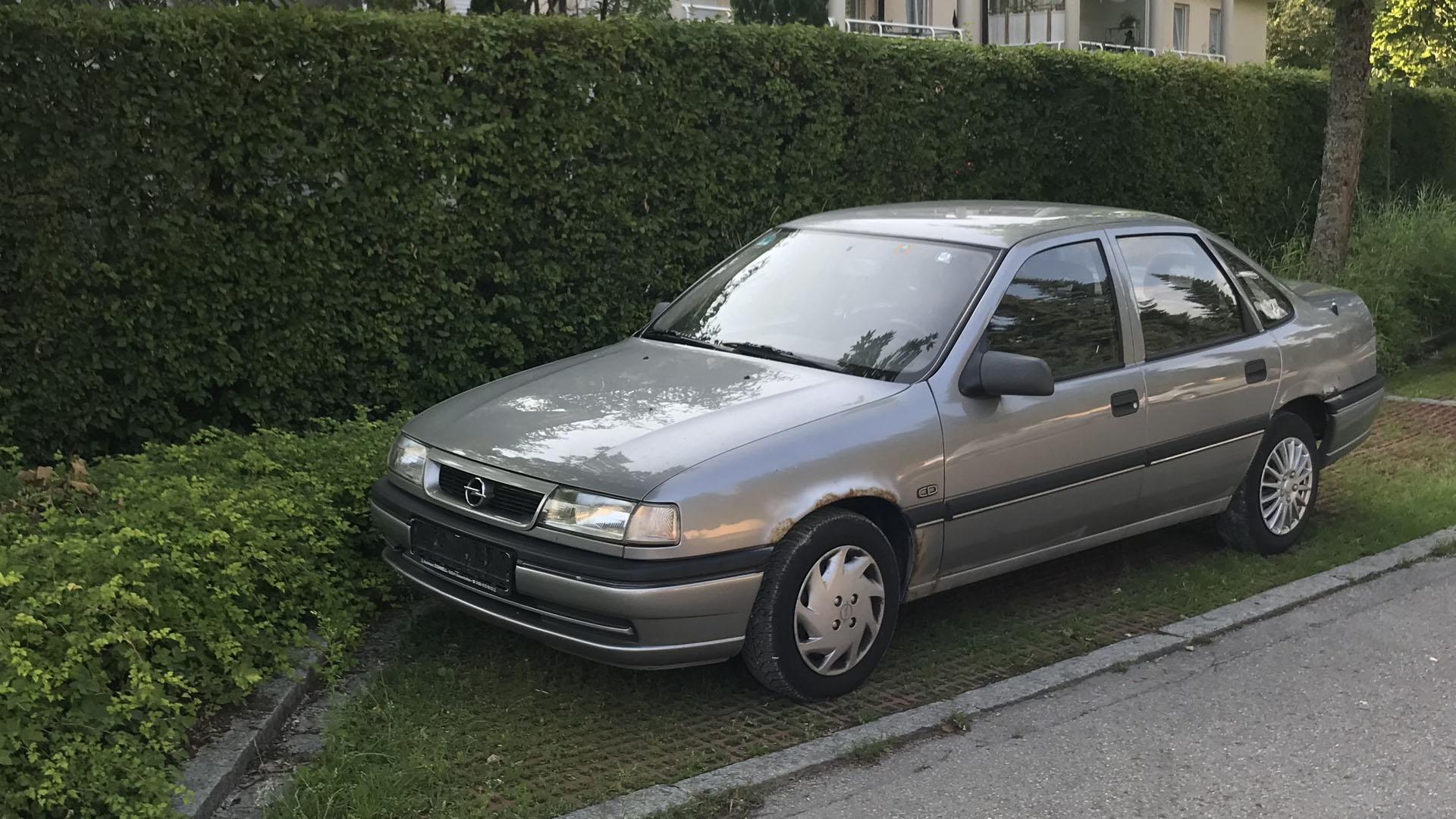 Falschparker Opel