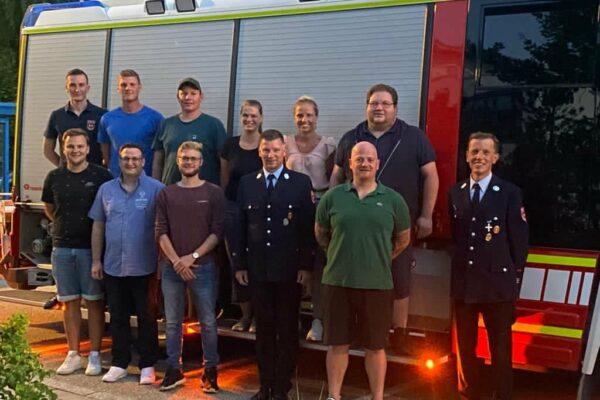 Hauptversammlung Feuerwehr Grasbunn 01
