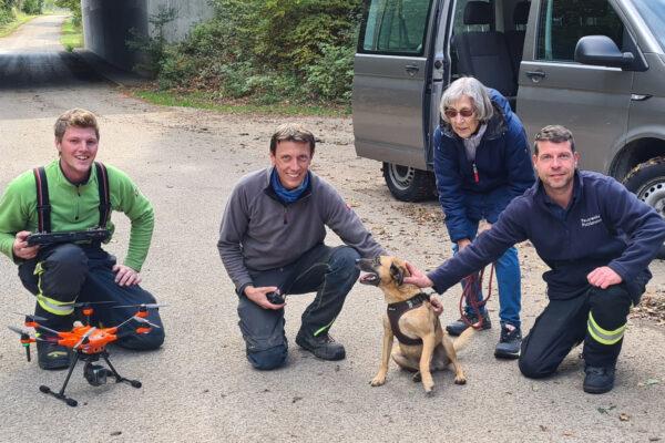 Feuerwehr Grasbrunn Hundesuche